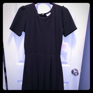 Lularoe Amelia Dress. NWT Size M Noir